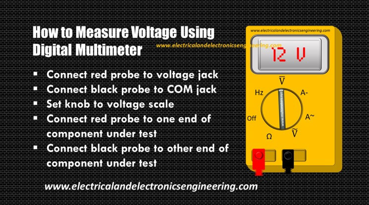 5 Steps to Measure Voltage Using Digital Multimeter
