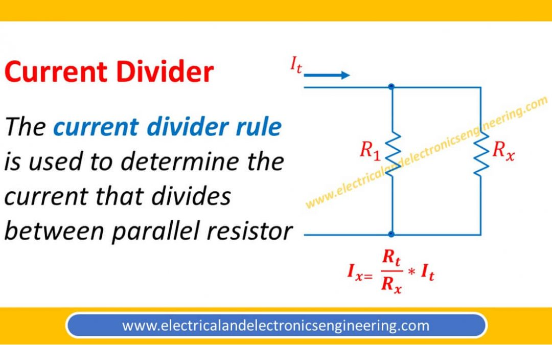 Current Divider Rule: All Important Things you need to Know about CDR