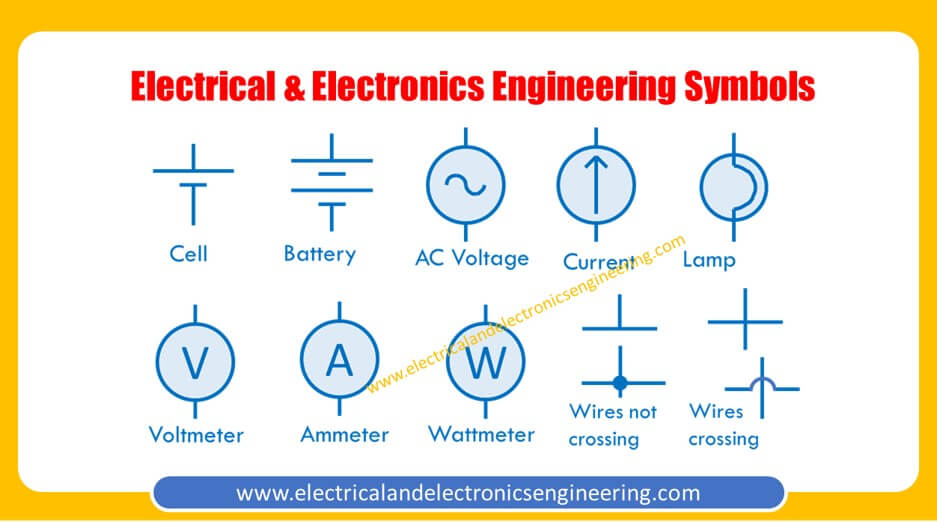 Symbols in Electrical and Electronics Engineering