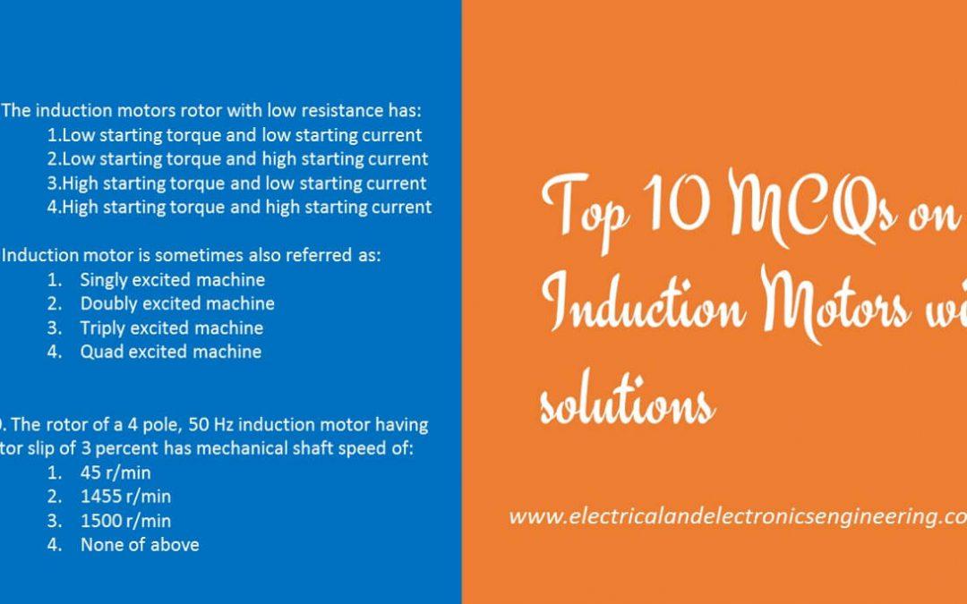 Induction Motor MCQs