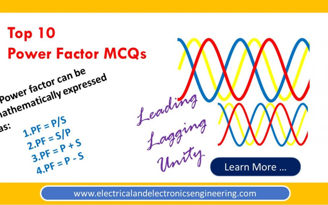 Top 10 MCQs on Power Factor