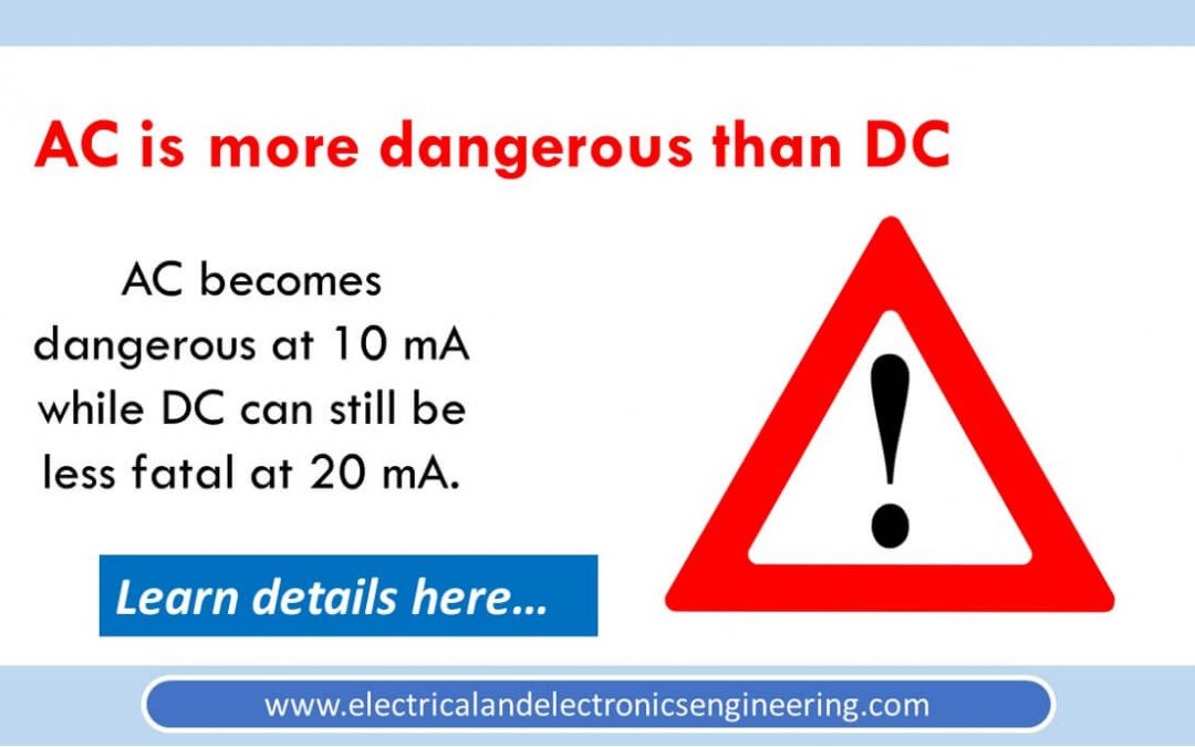 Experimental Proof AC is More Dangerous than DC