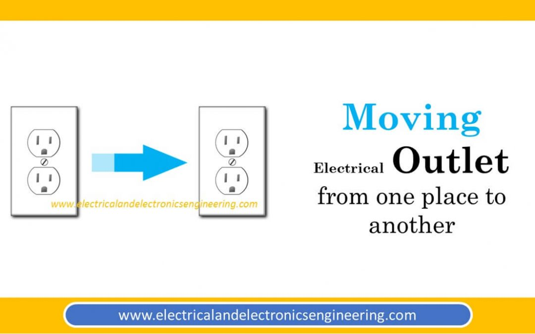 A simple Video Guide for Moving Electrical Outlet