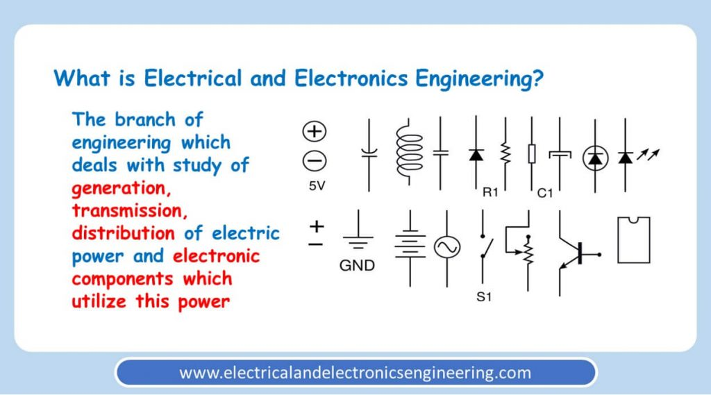 Definition of Electrical and Electronics Engineering